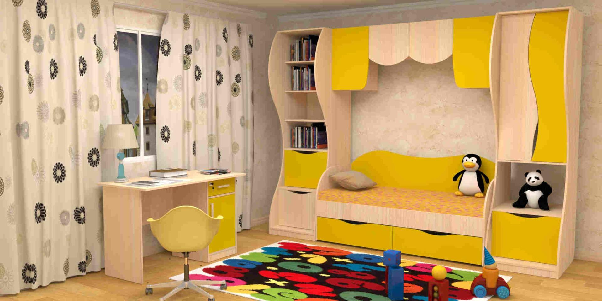 Детская комната простоквашино.
